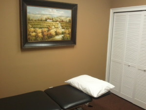 picture of exam room at Australian Physiotherapy Specialists